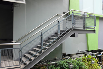 Photo sur Plexiglas Escalier building outdoor stairs