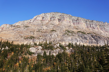 Wall Mural - Mountain in Glacier National park