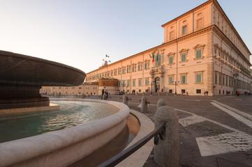 Il Palazzo del Quirinale Roma