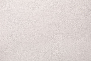 Soft beige leather texture with print as background