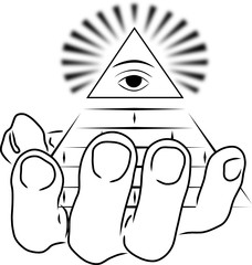 new world order and hand