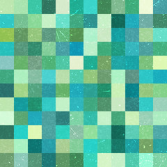 Geometric pattern for business presentations or web template banner flyer. Seamless. Vector illustration. Green, blue colors.