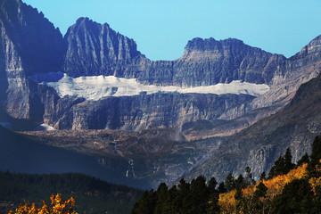 Wall Mural - Glacier in Glacier National Park