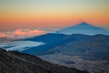 Shadow of Pico del Teide, Tenerife, Canary Islands