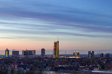 Skyline Stadt Essen