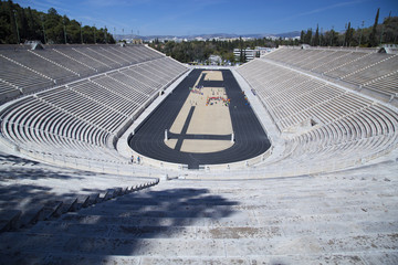 Panathenaic Stadium in Athens