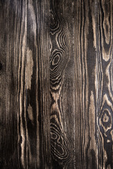 brown wall wood texture background with knots