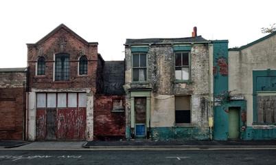 derelict british street