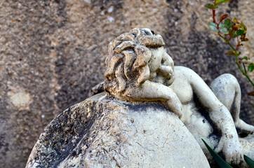 Schlafendes Steinengelchen