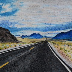 Shoshone California Vista Painting