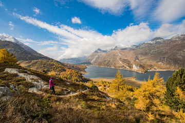 Fall in the Engadin