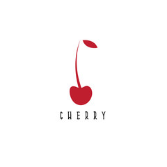 vector design template of the abstract cherry
