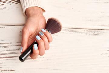 Wall Mural - Brush for make-up artist.