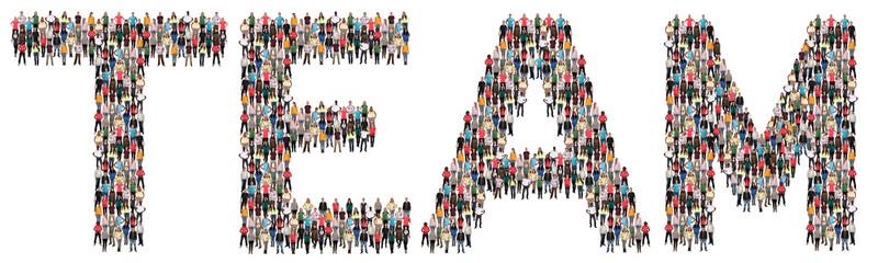 Team Teamwork Erfolg erfolgreich zusammen Leute Menschen People Gruppe Menschengruppe