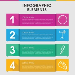 Image infographic design with elements.