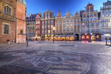 Wrocław stare miasto Fotoväggar