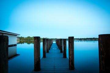 Lake Pier Landscape