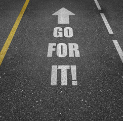 Road Markings - Go For It!
