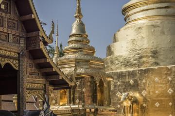 tempio buddista in Thailandia
