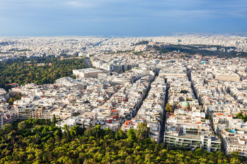 Recess Fitting Athens Athens aerial panoramic view