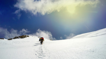 Climbing Mont Blanc pov