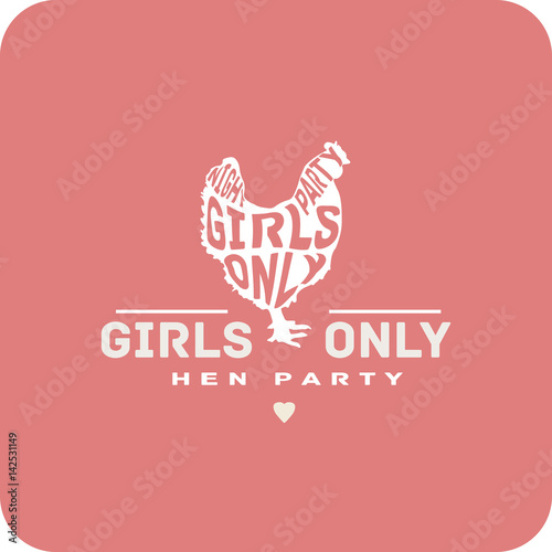 S Only Night Party Promo Hen Sign