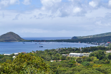 Dominica Island Landscape of Bay Area