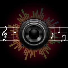 speaker music icon