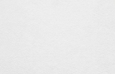 Clean horizontal recycled white paper texture or background