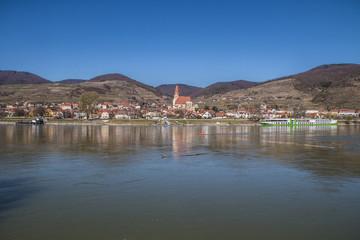 Tuinposter Scandinavië Weissenkirchen in der Wachau