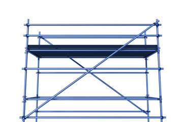 Scaffolding, 3d illustration