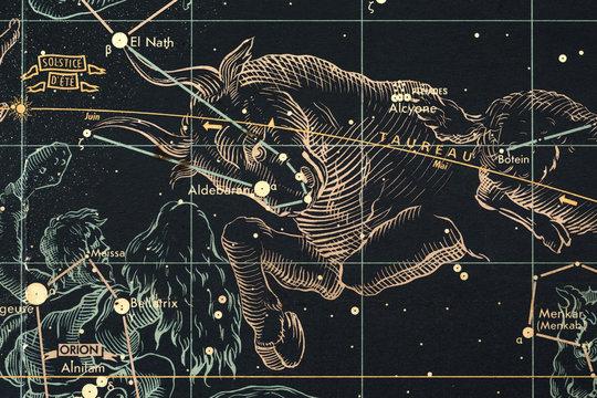 mapa nieba- byk