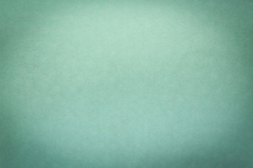 Abstract vignette with gradient color. Abstract green marine color background