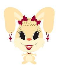 funny bunny girl