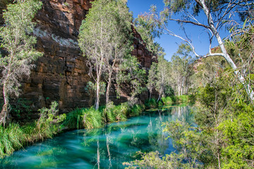Printed kitchen splashbacks Australia Gorge in Karijini National Park, Western Australia