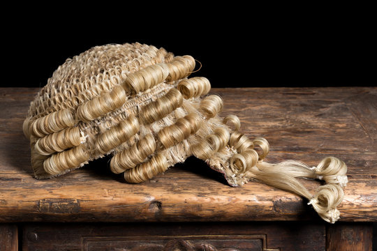 Genuine barrister's wig