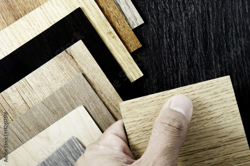 Surface Of Teak Wood Background For Design And Decoration