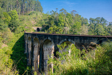 The Main Line Rail Road In Sri Lanka . The Line Begins At Colombo Fort And Winds Through The Sri Lankan Hill Country To Reach Badulla