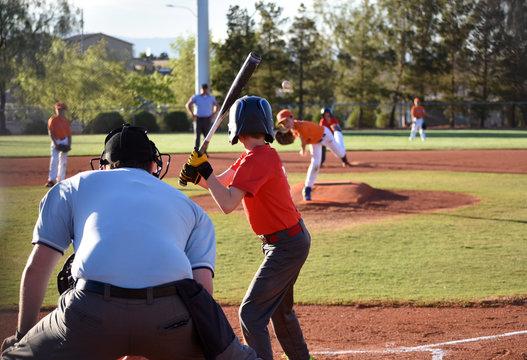 Baseball game, batter up