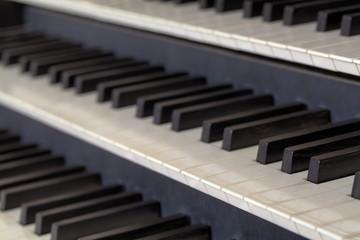 Keybord of an Organ