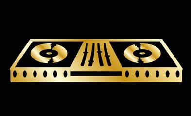 Musik dj pult