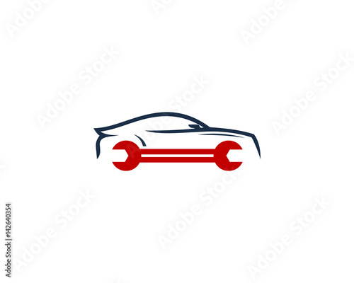 repair car garage icon logo design element stock image and royalty rh fotolia com Auto Detailing Logo Auto Detailing Logo
