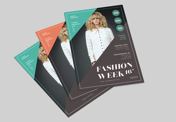 Fashion Event Flyer Layout