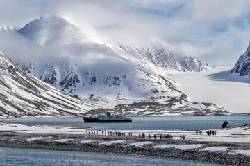 Faszinierendes Spitzbergen Wall mural
