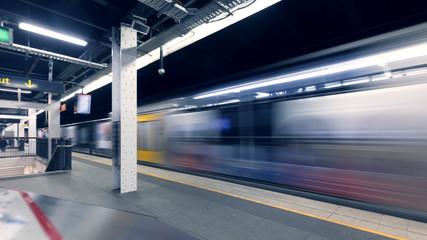 Sydney subway station