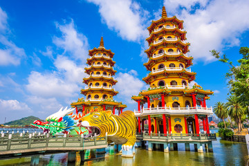 Kaohsiung, Taiwan Pagodas