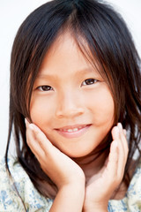 Portrait of Vietnamese girl