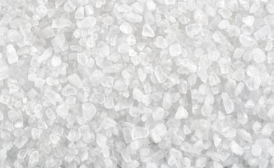 Foto auf AluDibond Aromastoffe Background of sea salt