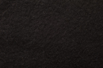 Soft black textile as background