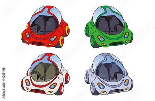 エコカー、電気自動車、水素カー